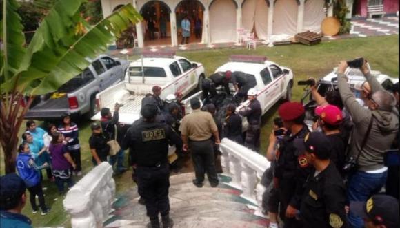 Indeci detalló que hay 32 heridos y un menor de edad figura como desaparecido. (Foto: Twitter)