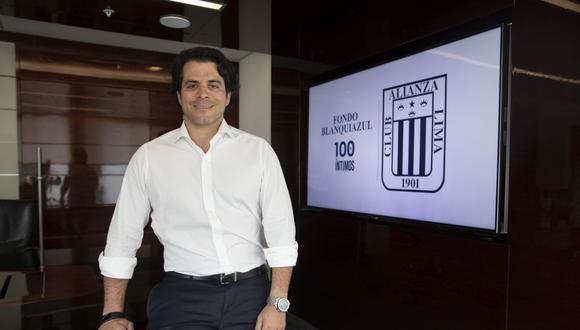Titular del Fondo Blanquiazul conversó con El Comercio sobre la postura que tiene Alianza Lima respecto a la suspensión de la Liga 1. (Foto: El Comercio)