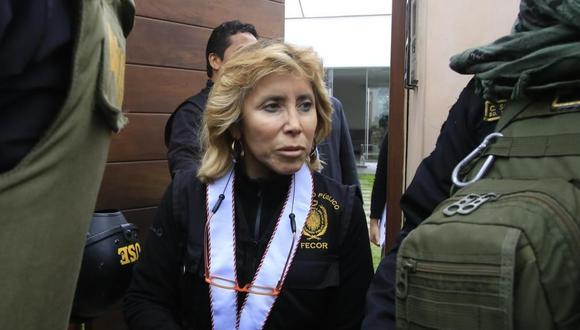 La fiscal Sandra Castro emitió un comunicado días después de conocerse la reunión que sostuvo con Martín Vizcarra y la fiscal Rocío Sánchez. (Foto: GEC)