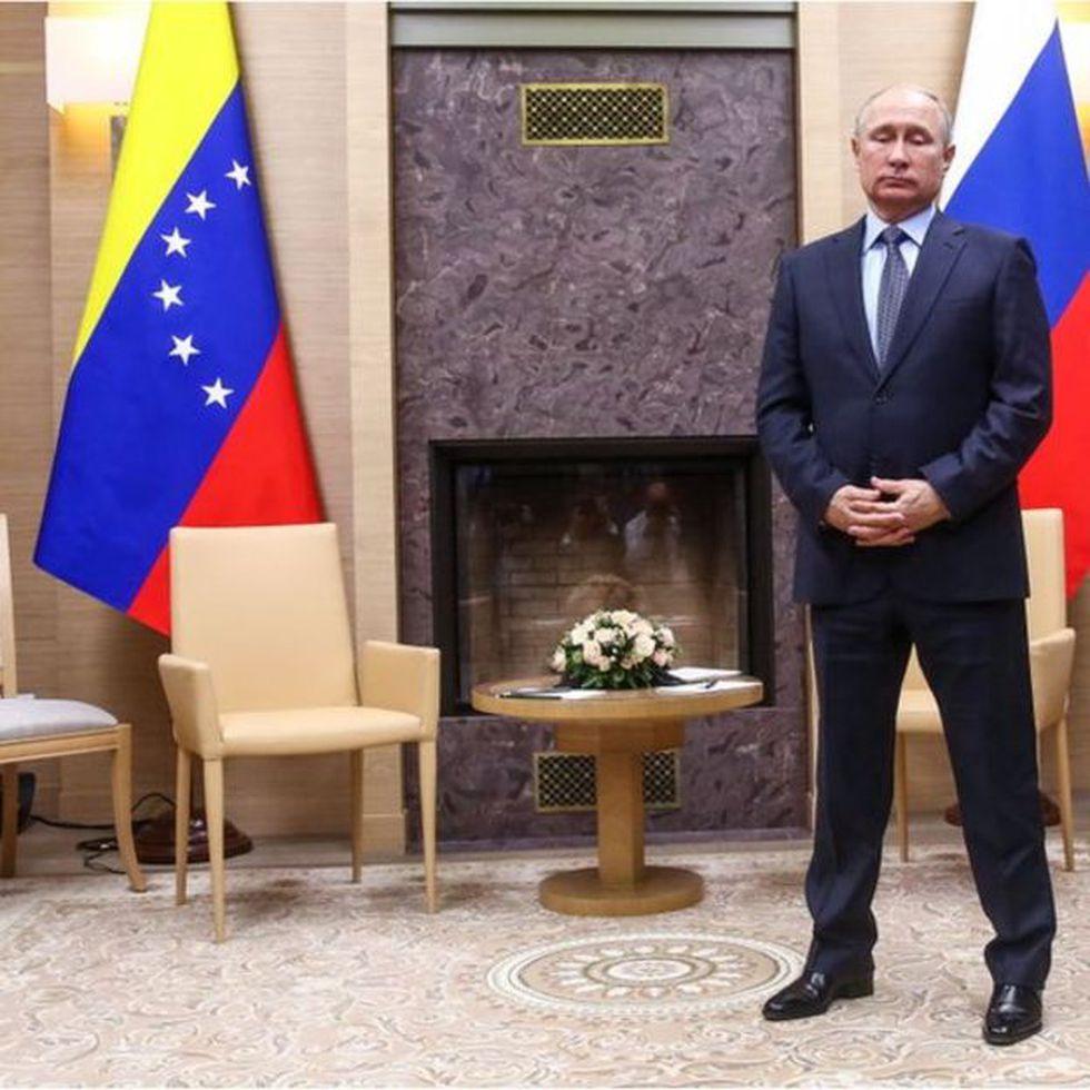 Putin tejió con Hugo Chávez una alianza que ha mantenido con Maduro.