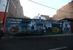 Alianza Lima: mural de la historia blanquiazul fue vandalizado con pintas | FOTOS