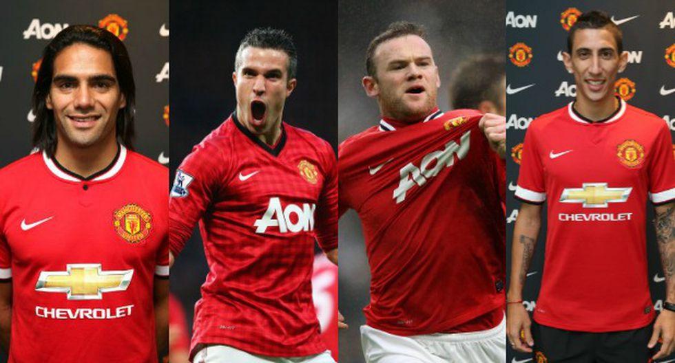 El ataque letal del Manchester United para esta temporada