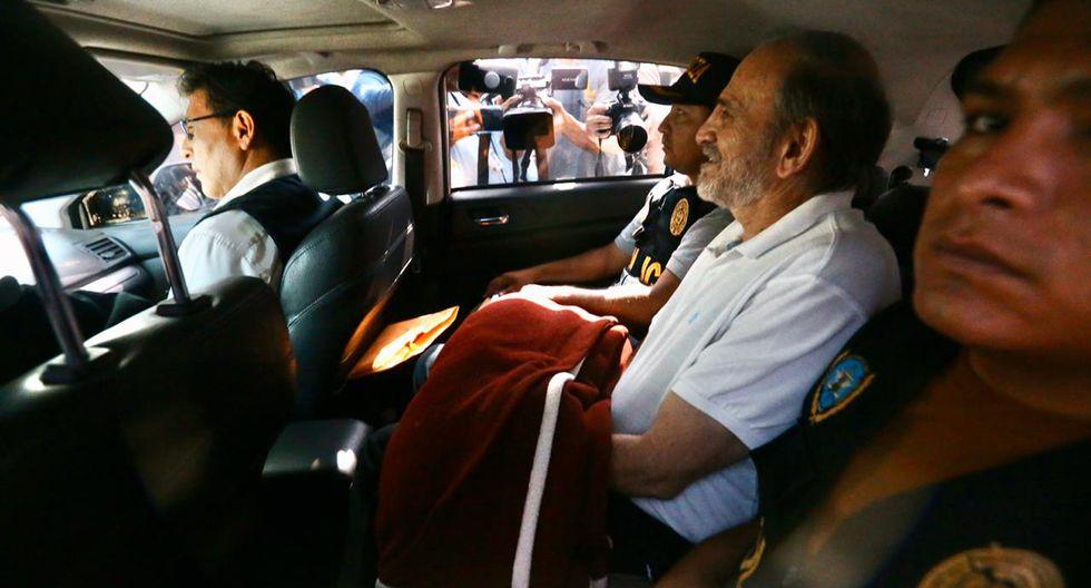 Yehude Simon fue detenido el lunes de manera preliminar como parte de la investigación que sigue el Ministerio Público por el proyecto Olmos.  (Foto: Hugo Curotto / GEC)