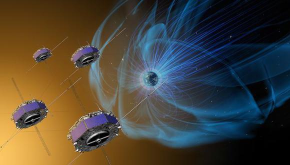 Observan la reconexión magnética entre la Tierra y el Sol