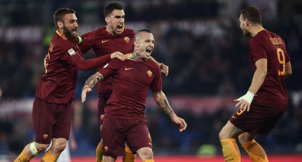 Milan perdió 1-0 ante Roma en el Stadio Olimpico por la Serie A