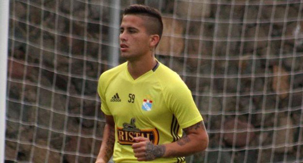 Cristian Ortiz se despide de Sporting Cristal con emotivo mensaje. (Foto: GEC)