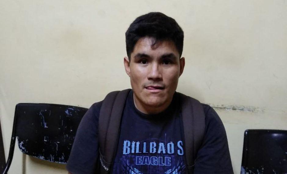 Sujeto agredió y pretendió desfigurarle el rostro a su ex conviviente. Él será investigado por el delito de violencia familiar (Foto: Serenazgo de Chimbote)