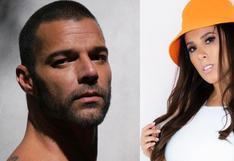 Ricky Martin reaccionó a publicación donde se promociona la nueva canción de Yahaira Plasencia