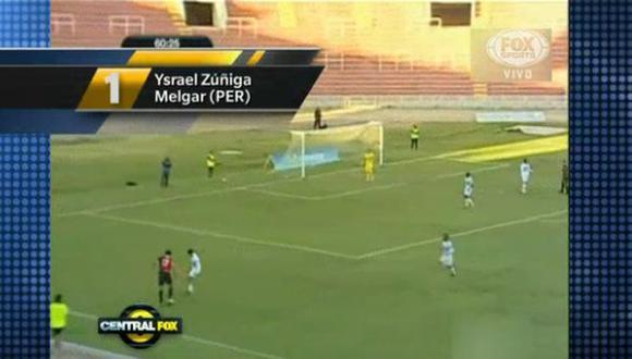 Gol de Zúñiga fue elegido el mejor de la semana en Fox Sports