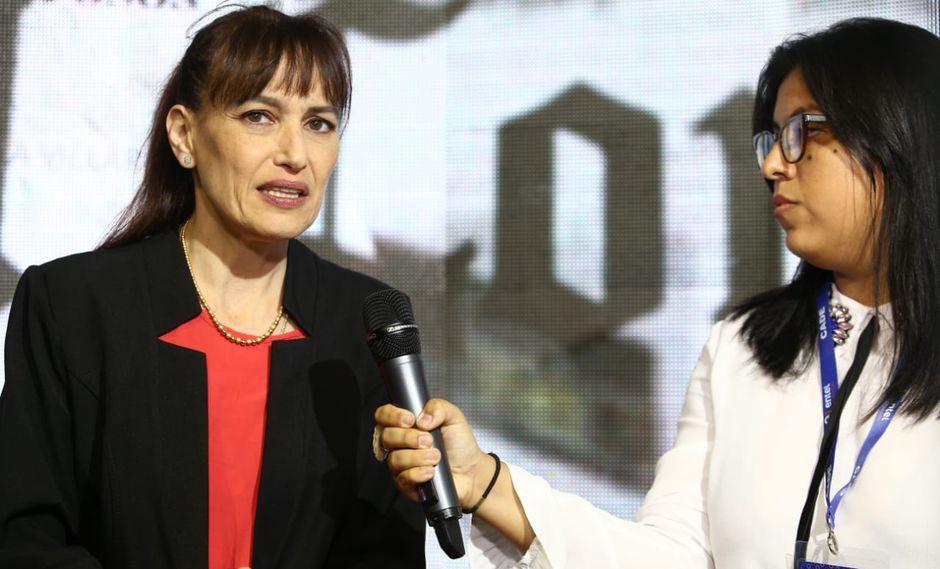 Silvia Pessah, ministra de Salud. (Foto: El Comercio)