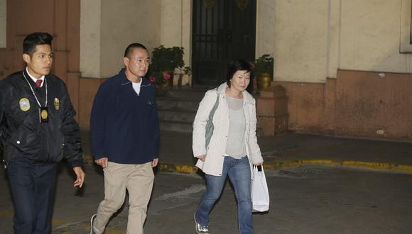 Sachi Fujimori dijo que sus hermanos Kenji y Hiro sí conocen a Antonio Camayo, pero que no le consta en el caso de Keiko. (Foto: Alonso Chero/ El Comercio)