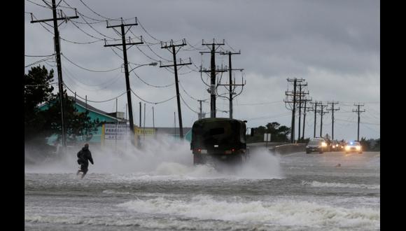 Huracán Arthur azotó EE.UU. con vientos de 160 km/h