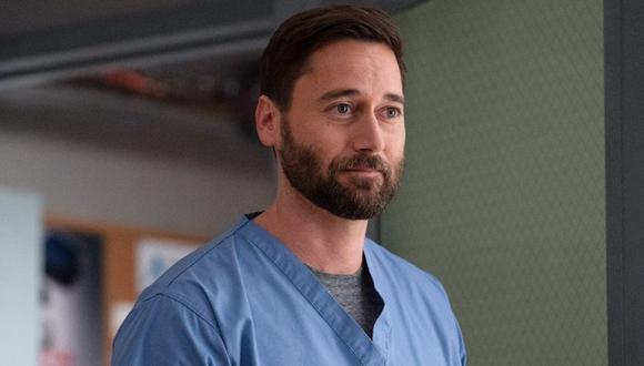 """Ryan Eggold interpreta al Dr. Max Goodwin en """"New Amsterdam"""" (Foto: NBC)"""