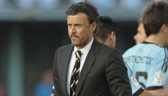 Luis Enrique se despide del Celta y desmiente acuerdo con Barza