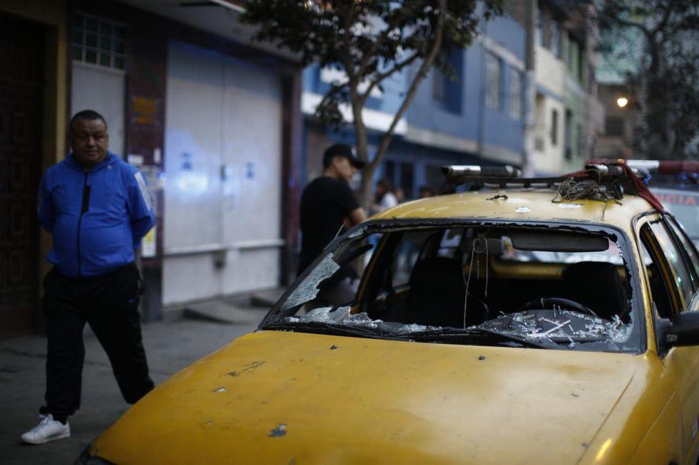 Balón de gas explosiona en la picantería La Norteña y deja más de 10 heridos. (Foto Renzo Salazar/GEC)