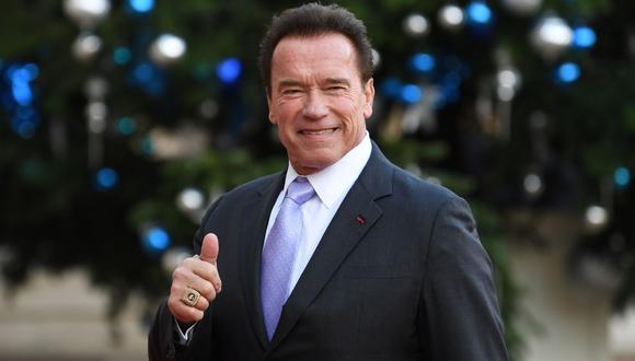 Arnold Schwarzenegger compartió video del preciso instante en que fue vacunado contra la COVID-19. (Foto: AFP/ALAIN JOCARD)