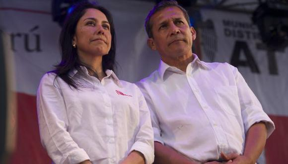 Ollanta Humala y Nadine Heredia, son acusados por la Fiscalía de cometer presunto delito de lavado de activos por la recepción de dinero ilícito de la empresa Odebrecht . (Foto archivo Eduardo Cavero)