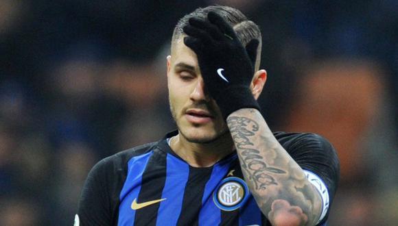 Mauro Icardi e Inter de Milán todavía no se ponen de acuerdo para firmar el contrato de renovación. (Foto: Reuters)