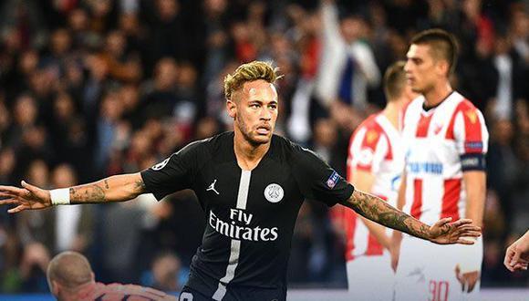 PSG recibe a Estrella Roja hoy (11:55 a.m. EN VIVO ONLINE vía ESPN), por la fecha 2 del Grupo C de la Champions League. (Foto: AFP)