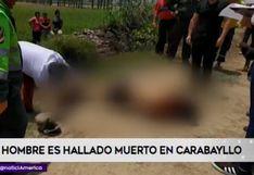 Carabayllo: hallan cádaver de un hombre en asentamiento humano | VIDEO