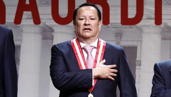 Luis Arce Córdova, destituido como fiscal supremo, afronta una investigación por presunto enriquecimiento ilícito. (Foto: Leandro Britto / El Comercio)