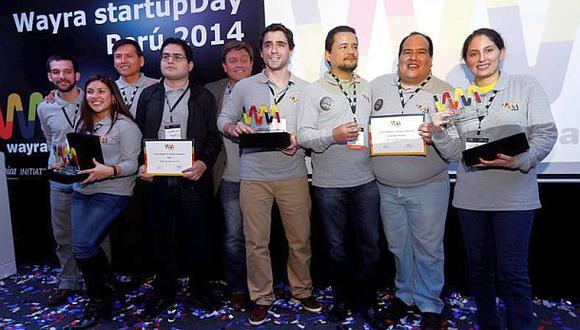 Wayra Perú presentó a sus startups tecnológicas ganadoras