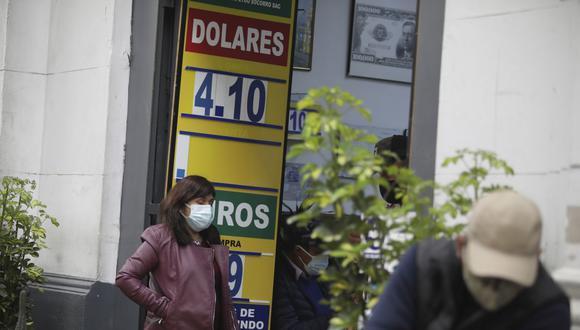 ¿Cuál es el precio del dólar en Perú? (Foto: Britanie Arroyo   GEC)