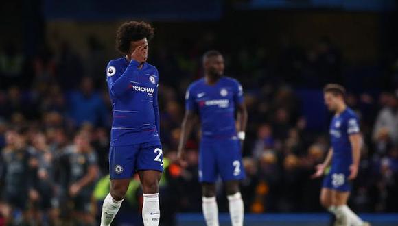 Chelsea perdió 1-0 Leicester por la jornada 18 de la Premier League. El duelo se desarrolló en el Stamford Bridge (Foto: agencias)