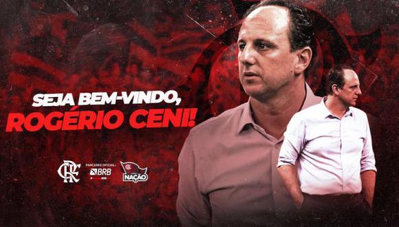 Rogerio Ceni dejó Fortaleza es el nuevo entrenador de Flamengo. (Foto: Flamengo)