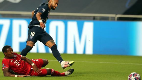 Neymar no pudo vencer al Bayern Múnich en la final de la Champions League 2019-2020. (Foto: EFE)