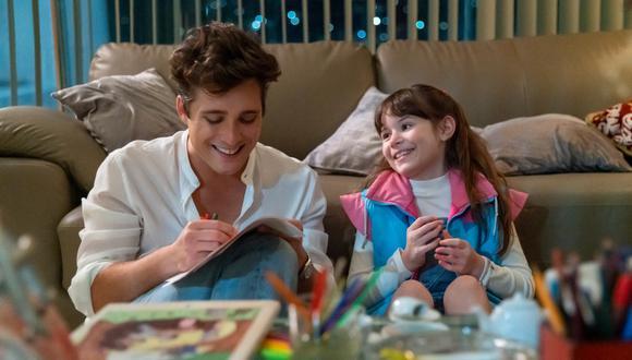 """El cuarto capítulo de la segunda temporada de """"Luis Miguel, la serie"""" tiene a un Luis Miguel más cercano a su hija durante su niñez. (Netflix)"""