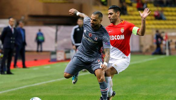 Mónaco perdió 2-1 contra Besiktas en casa y se complicó en la Champions League. (Foto: Reuters)