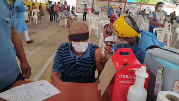La Región Loreto recibió 5.850 dosis de Pfizer para que sean aplicadas a los adultos mayores de 70 años.