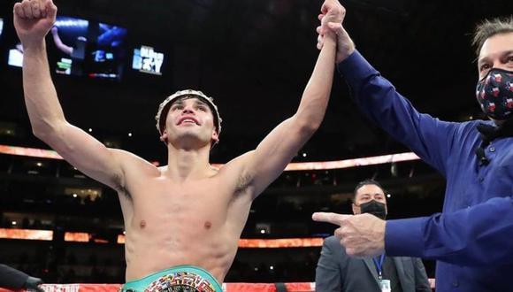 Ryan García, la nueva sensación del boxeo, ganó el título de peso ligero del Consejo Mundial vía KO