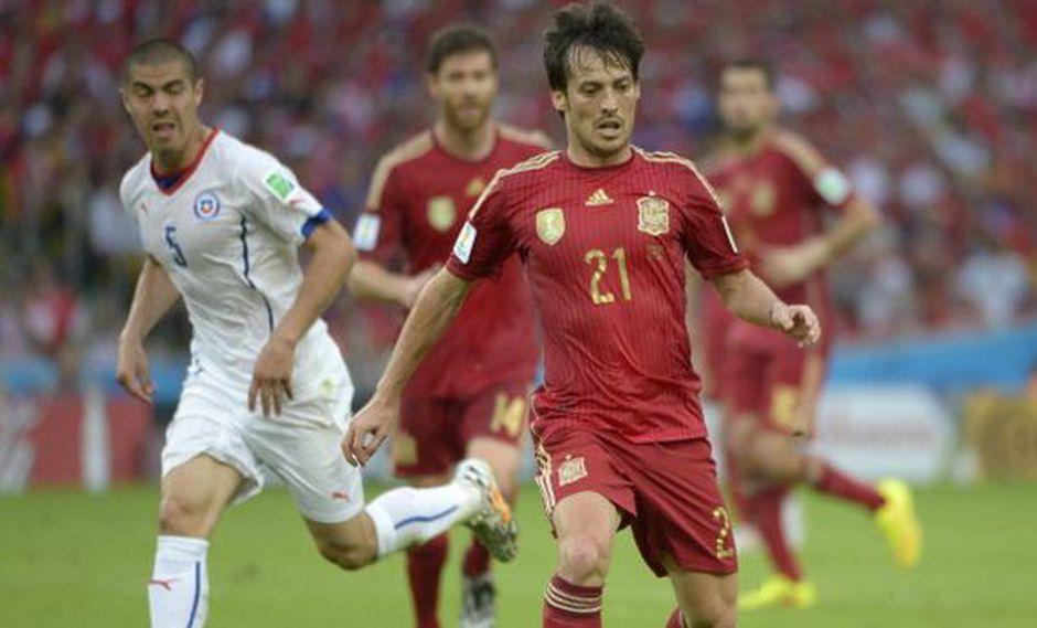 David Silva defiende el estilo de la selección española