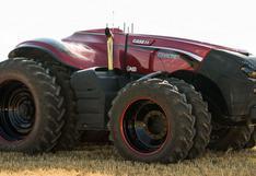 La autonomía llegó a los tractores. ¡Y lo manejas con un Ipad!