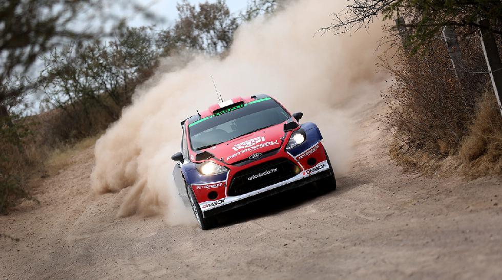 Nicolás Fuchs probó su Ford Fiesta para Rally de México - 6