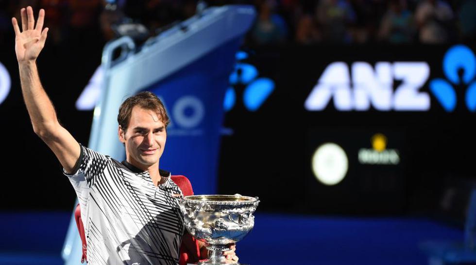 Federer, una leyenda: fotos de premiación en Australian Open - 12