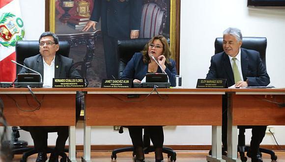 La Comisión de Ética debatió varios casos en su sesión ordinaria de este lunes. (Foto: Congreso de la República)