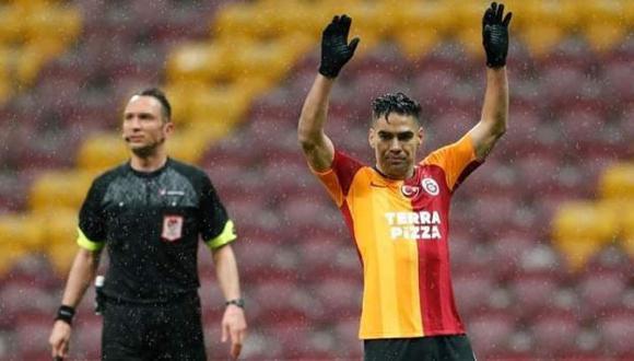 Radamel Falcao dejaría el Galataasaray y ficharía por el Portland Timbers de la MLS. (Foto: Galatasaray)