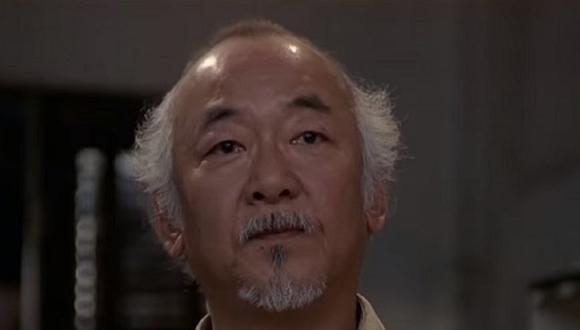 Entonces, el Sr. Miyagi tuvo en total tres estudiantes de karate (Foto: Sony Pictures Home Entertainment)