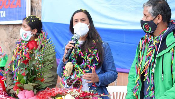 Verónika Mendoza postula por segunda vez a la presidencia de la República (Foto: GEC).
