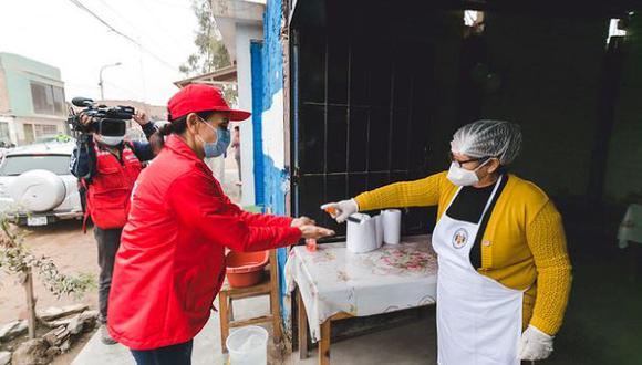 Hasta la fecha 7911 comedores populares han reiniciado sus operaciones a nivel nacional | Foto: Midis