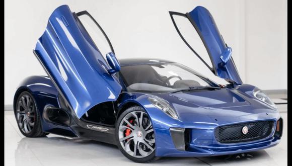 El Jaguar C-X75 de Spectre es el prototipo presentado en el Salón de París del 2010. (Fotos: Difusión)