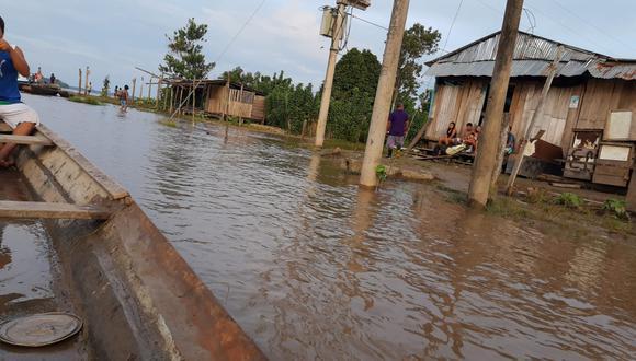 El Centro de Operaciones de Emergencia Regional (COER) Loreto precisó que se realiza la evaluación de daños. (Foto: Daniel Carbajal-Referencial).