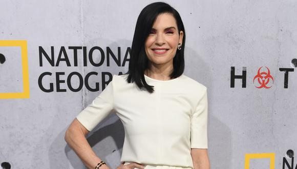 "Julianna Margulies se suma al estelar reparto de ""The Morning Show"". (Foto: Mark RALSTON / AFP)"