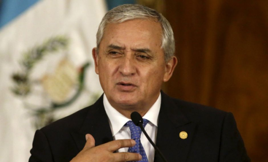 Otto Pérez Molina no quiere que su detención sea un espectáculo
