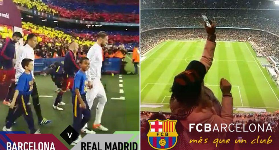 Así se vivió el Barcelona vs. Real Madrid en Snapchat - 1