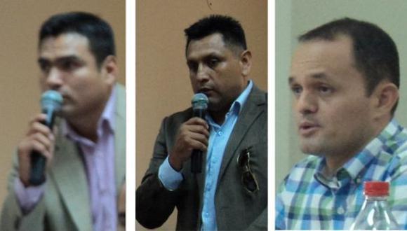 Monzón, Parreño y Bances fueron condenados a 6 años de prisión por robo de combustible en Moquegua. (Foto: Cortesía)