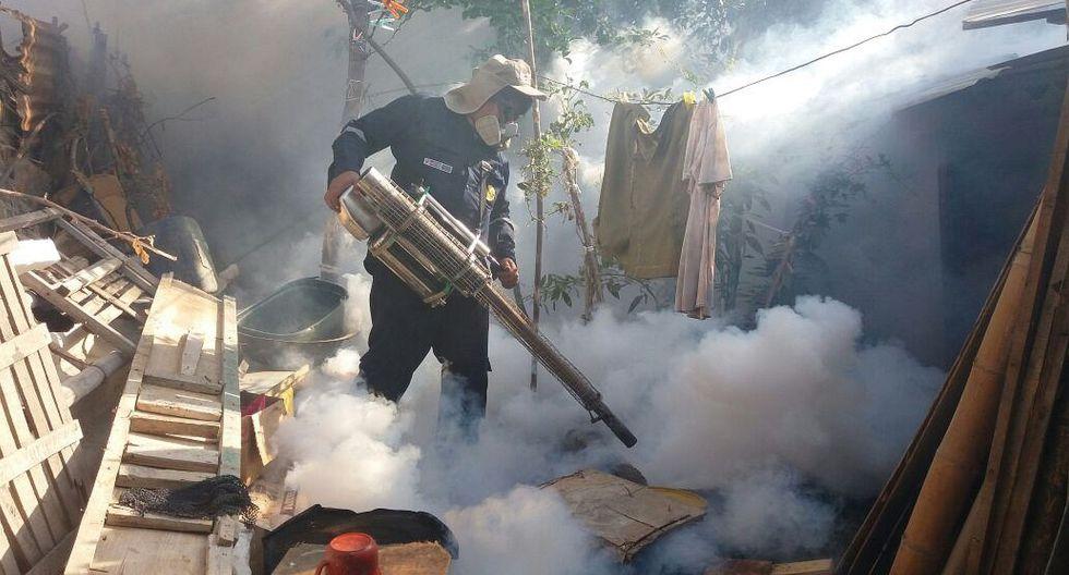 Las autoridades de salud continúan con las actividades de prevención y de control del vector que transmite el dengue, zika y chikunguña. (Foto: Ralph Zapata)